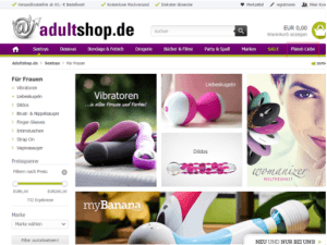 Adultshop Dildo Shop